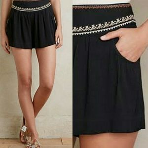 Elevenes Skirty 6 Embroidered Shorts